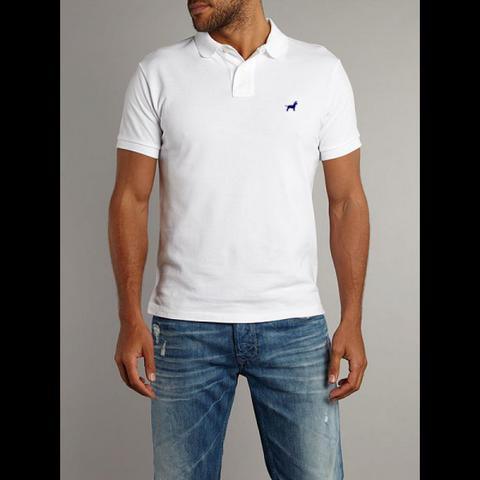 Camisa Polo Uniforme Branca Brooklin - Camisa de Uniforme Polo