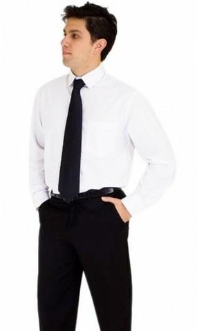 Camisa Uniforme Branca Belém - Camisa de Uniforme Polo