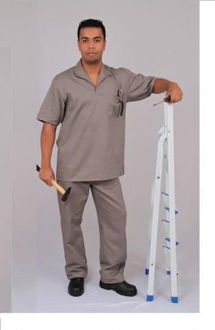 Camisas Brim Uniforme Pompéia - Camisa de Uniforme Polo