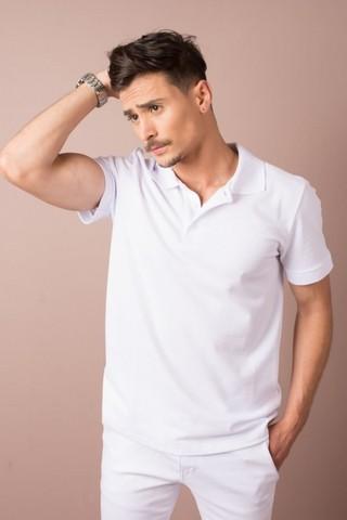 Camisas Polo Uniforme Branca Jardim Guedala - Camisa de Uniforme de Trabalho