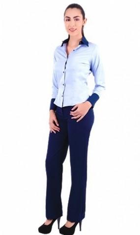 Onde Comprar Camisa de Uniforme Social Azul Santo Amaro - Camisa de Uniforme Polo