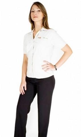 Onde Comprar Camisa Uniforme Branca Barueri - Camisa de Uniforme de Trabalho