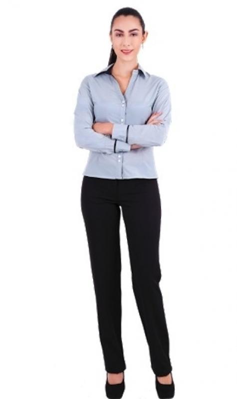 Onde Encontro Camisa de Uniforme Feminino São Bernardo Centro - Camisa de Uniforme de Trabalho