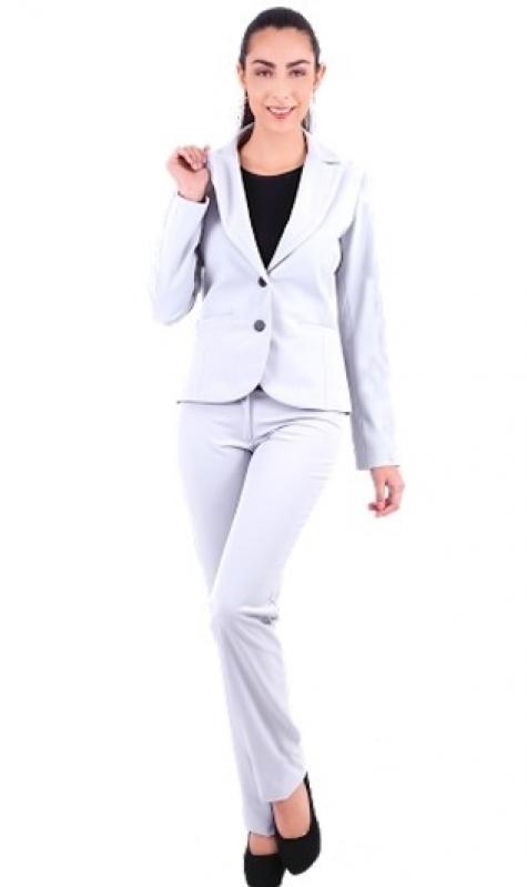 Onde Vende Calça de Uniforme Branca Anália Franco - Calça de Uniforme Cinza