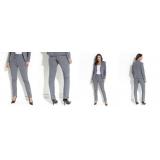 calça de uniforme cintura alta Vila Albertina