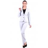 calça de uniforme cinza Franca