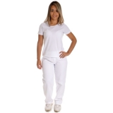 calça de uniforme de brim preço Taubaté
