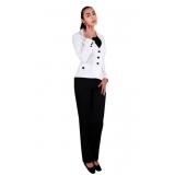 calça de uniforme preta preço Embu das Artes