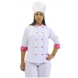 calças brancas uniformes cozinha Araçatuba