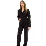 calça de uniforme preta