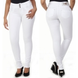 calças de uniforme branca Pinheiros