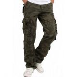 calças de uniforme com bolso lateral Raposo Tavares