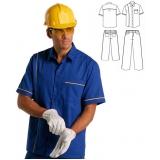 camisa brim uniforme preço Ilhabela