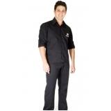 camisa de uniforme de trabalho Jardim Bonfiglioli