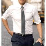 camisa de uniforme masculina Cotia