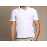 camisa polo uniforme branca preço Mendonça