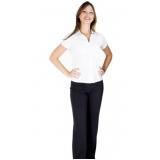 camisa uniforme branca preço Mongaguá