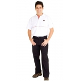 camisas de uniforme bordada Jaboticabal