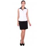 camisa uniforme branca