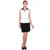 camisas uniformes brancas São Vicente