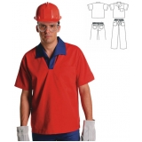 onde comprar camisa brim uniforme Jardins