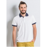 onde comprar camisa polo uniforme branca José Bonifácio