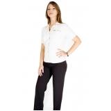 onde comprar camisa uniforme branca Barueri