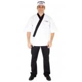 onde comprar uniforme chef personalizado Cananéia
