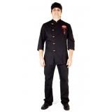 onde encontrar confecção de uniformes para restaurante Caierias