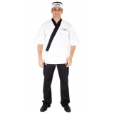 onde encontro confecção de uniformes para restaurante Conjunto Residencial Butantã