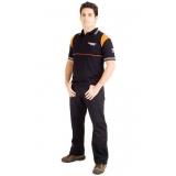 onde encontro uniforme profissional camisa polo Limão