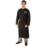 uniforme chef personalizado preço litoral paulista