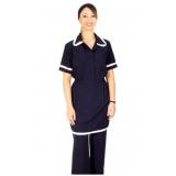 uniforme para serviço gerais feminino preço Jd da Conquista