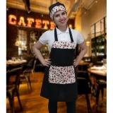 uniforme profissional cafeteria Nossa Senhora do Ó