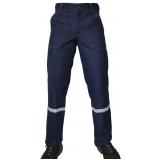 uniforme profissional calça jeans preço Água Funda