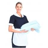 uniforme profissional doméstica Guararema