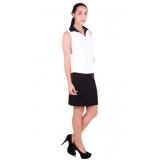 uniforme social feminina preço Caierias