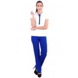uniforme social feminino moderno preço Mooca