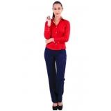 uniformes executivos femininos personalizados Mooca