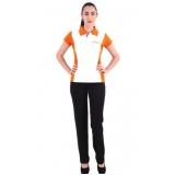 uniformes profissionais camisa polo Santana