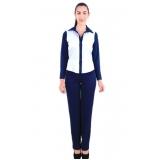 uniforme social azul marinho