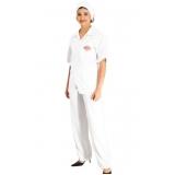 uniforme para cozinheira