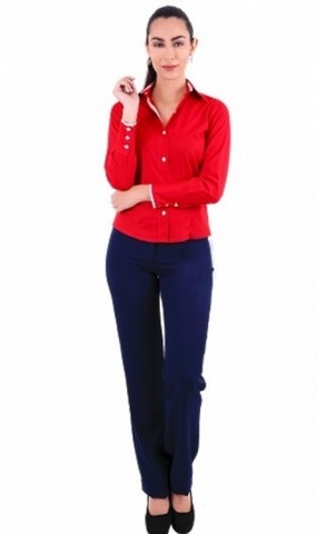 Uniforme Administrativo Feminino Socorro - Uniforme Administrativo