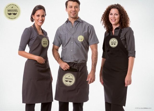 Uniformes Profissionais Cafeteria Brasilândia - Uniforme Profissional Cafeteria